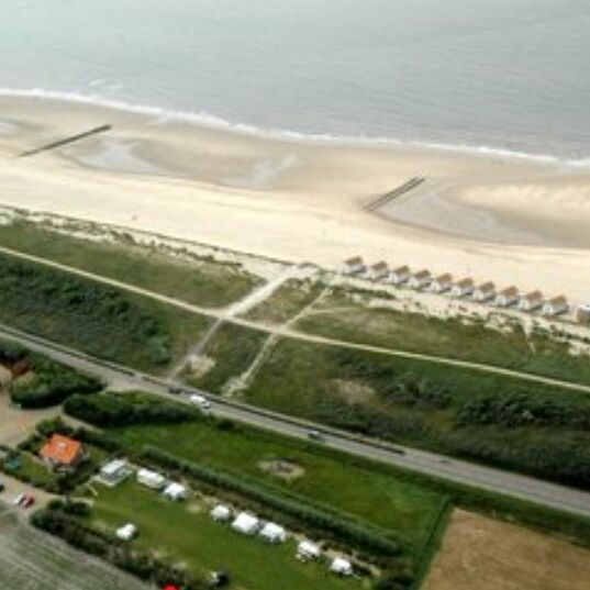 Camping in Domburg - Minicamping Noordduin vanuit lucht
