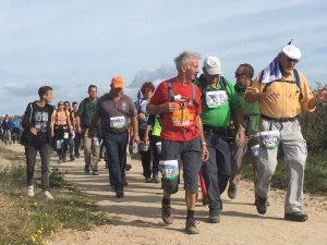 Kustmarathon Zeeland - wandelmatarhon langs minicamping Noordduin in Domburg over duinen