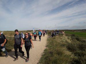 Kustmarathon Zeeland - Wandelmarathon langs minicamping Noordduin